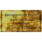 Constipation Relief - Digestive Tract Paralysis