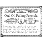 Ayurvedic Oil Pulling Herbal Toothpaste